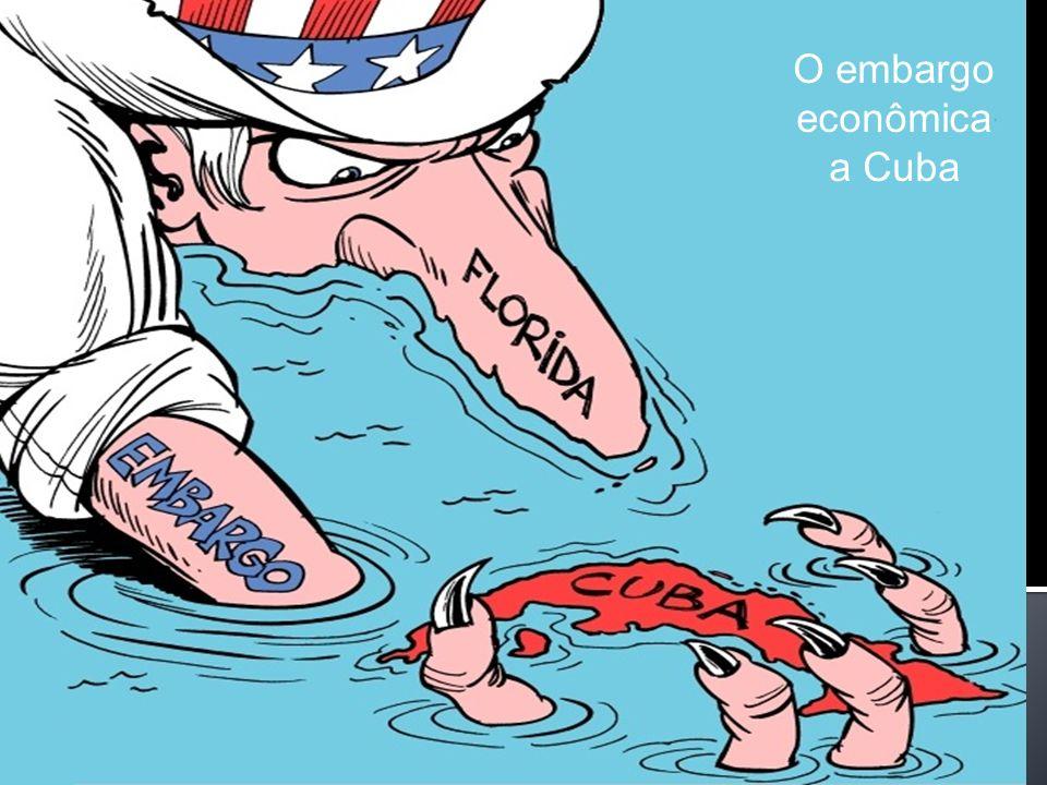 O embargo econômica a Cuba