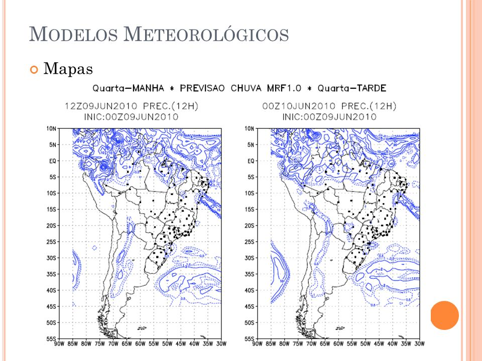 Modelos Meteorológicos