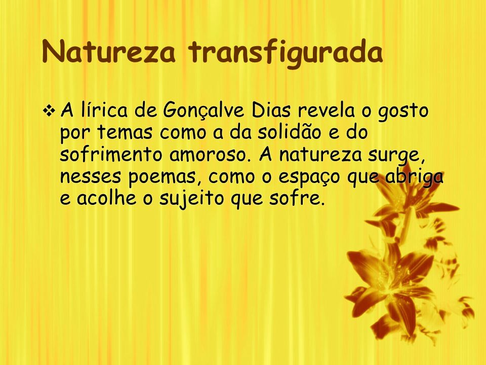 Natureza transfigurada