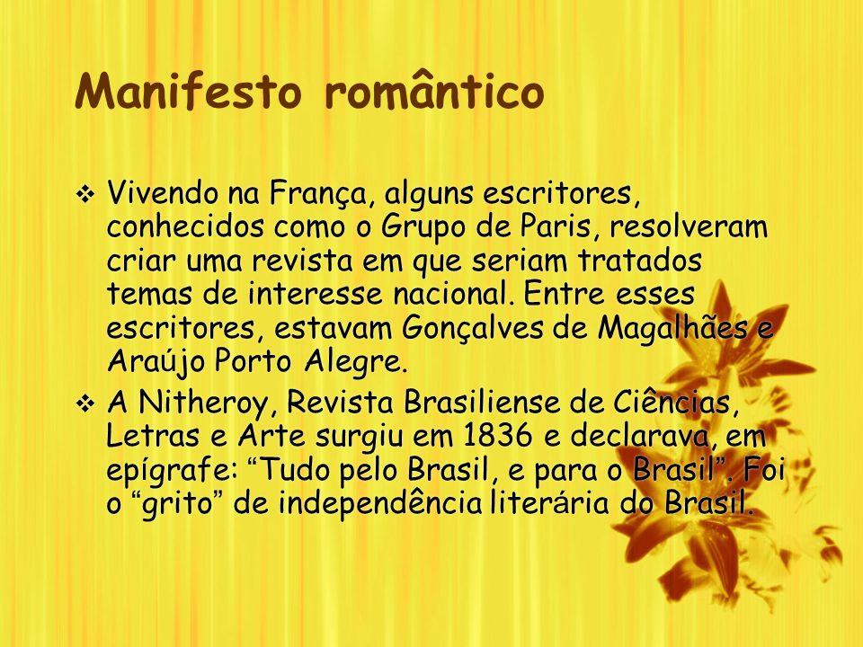 Manifesto romântico