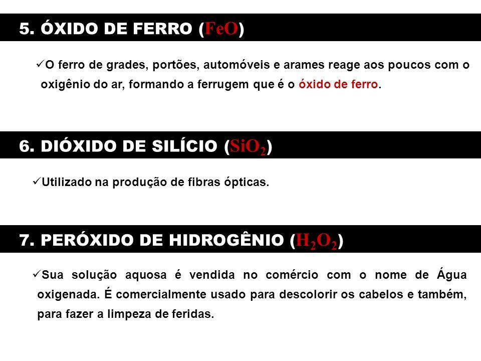 6. DIÓXIDO DE SILÍCIO (SiO2)