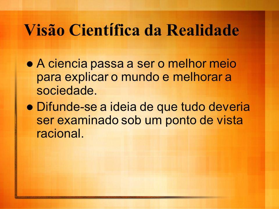 Visão Científica da Realidade