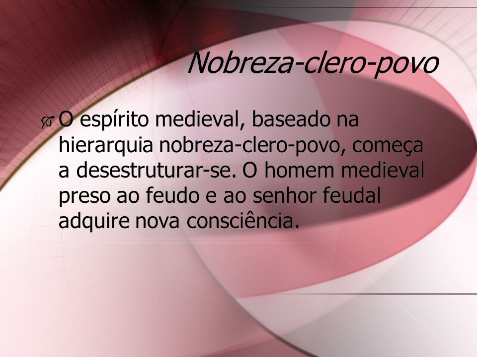 Nobreza-clero-povo