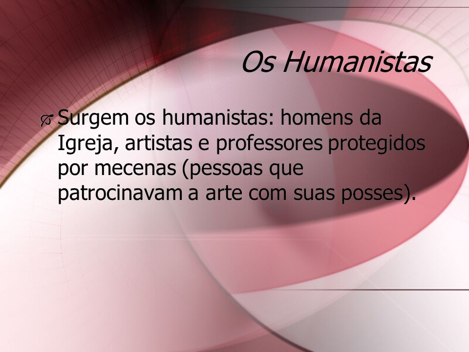 Os Humanistas