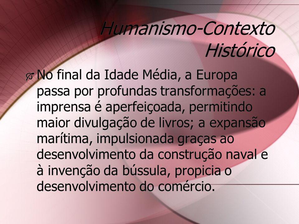 Humanismo-Contexto Histórico