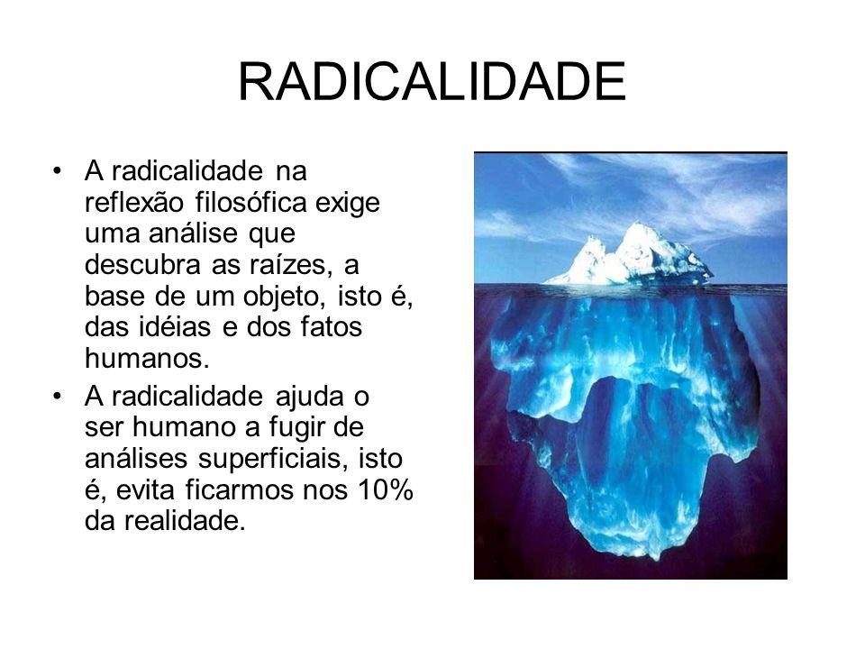 RADICALIDADE