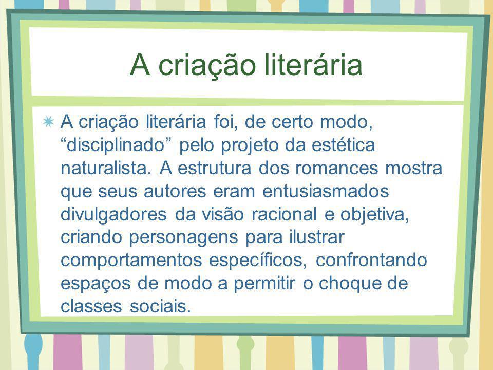 A criação literária