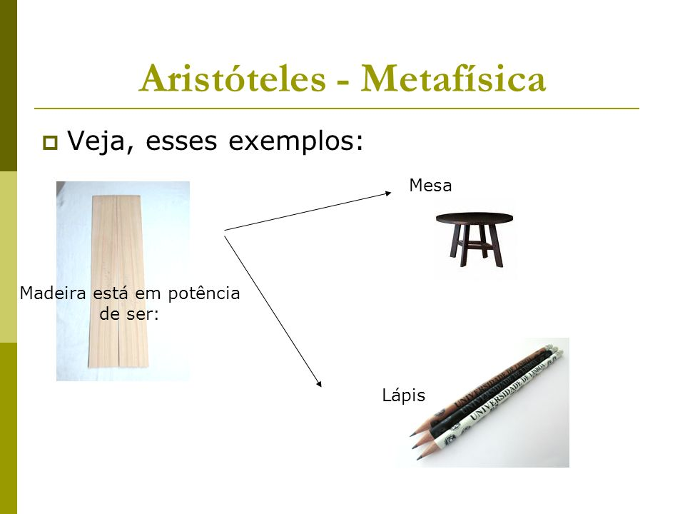 Aristóteles - Metafísica
