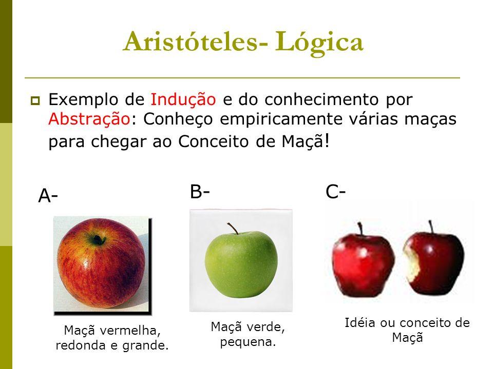Aristóteles- Lógica B- C- A-