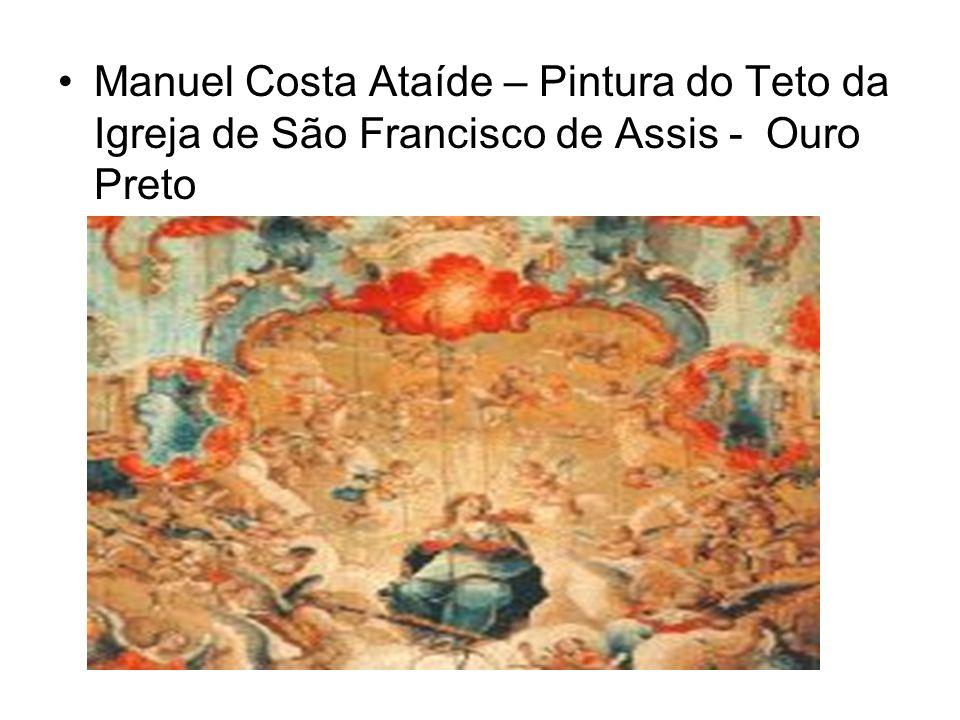 Manuel Costa Ataíde – Pintura do Teto da Igreja de São Francisco de Assis - Ouro Preto