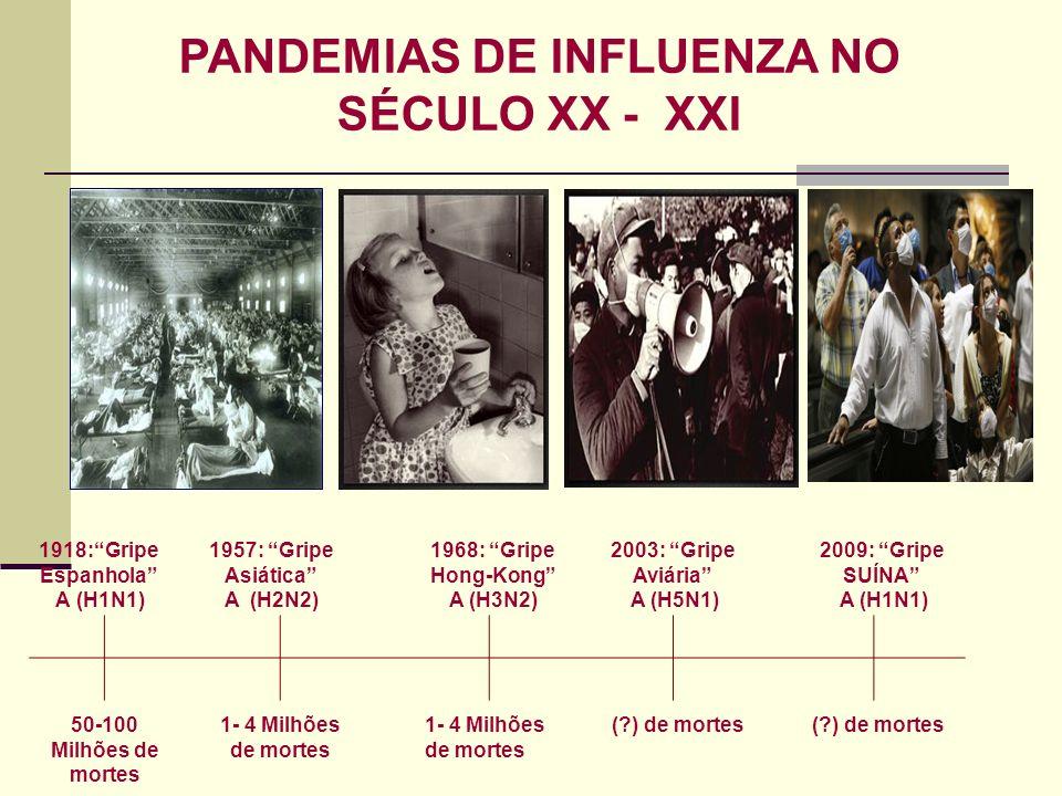 PANDEMIAS DE INFLUENZA NO
