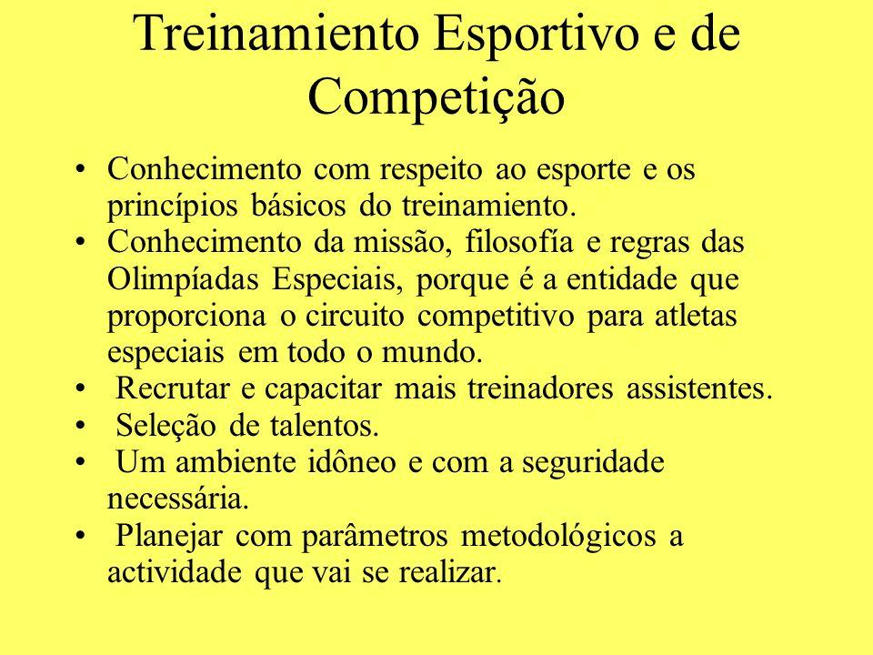 Treinamiento Esportivo e de Competição