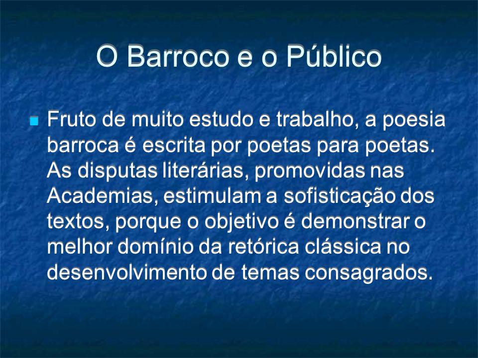 O Barroco e o Público