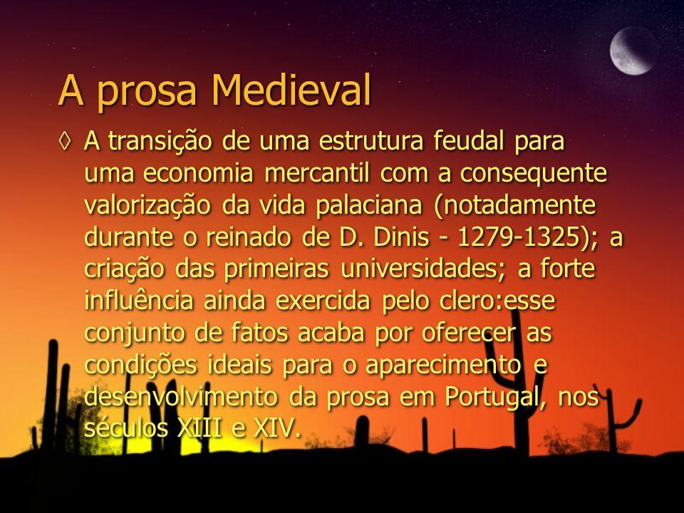 A prosa Medieval