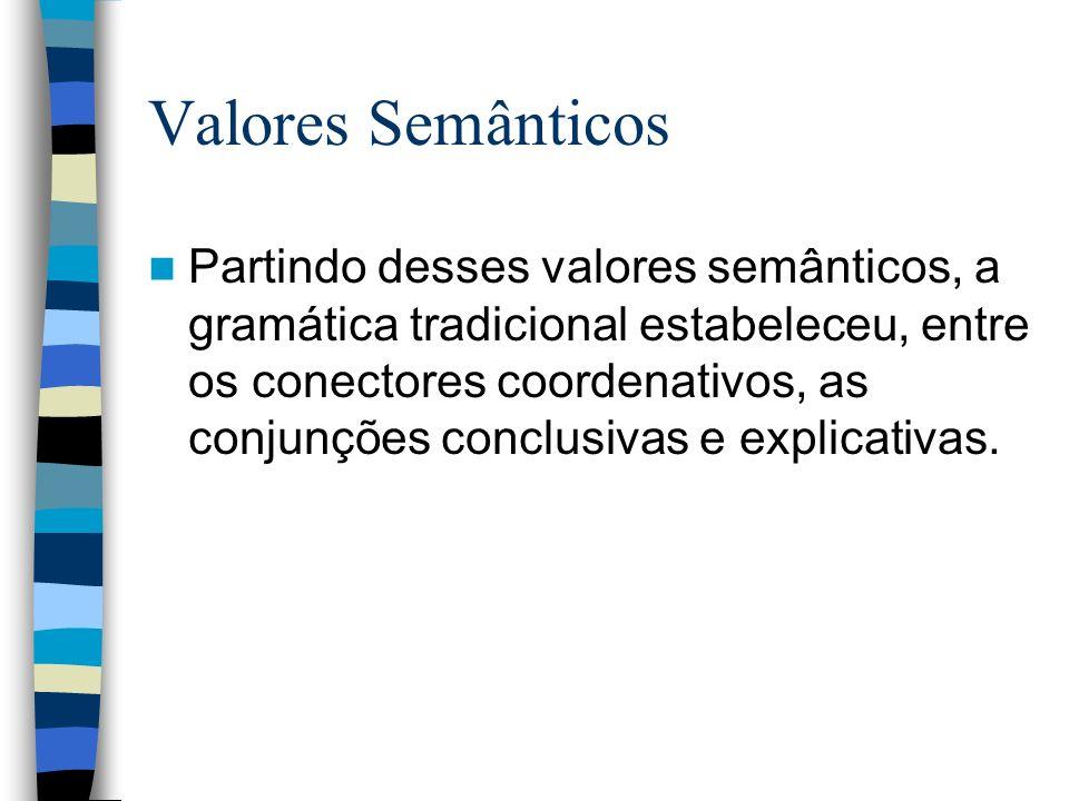 Valores Semânticos