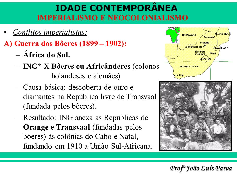 Conflitos imperialistas: