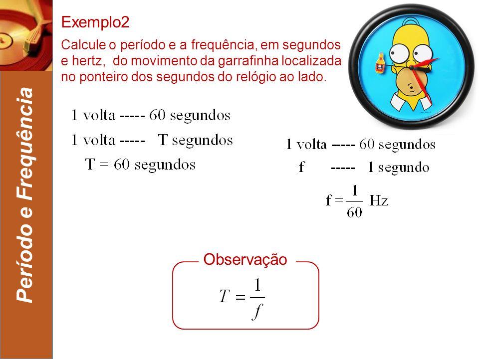 Período e Frequência Exemplo2 Observação