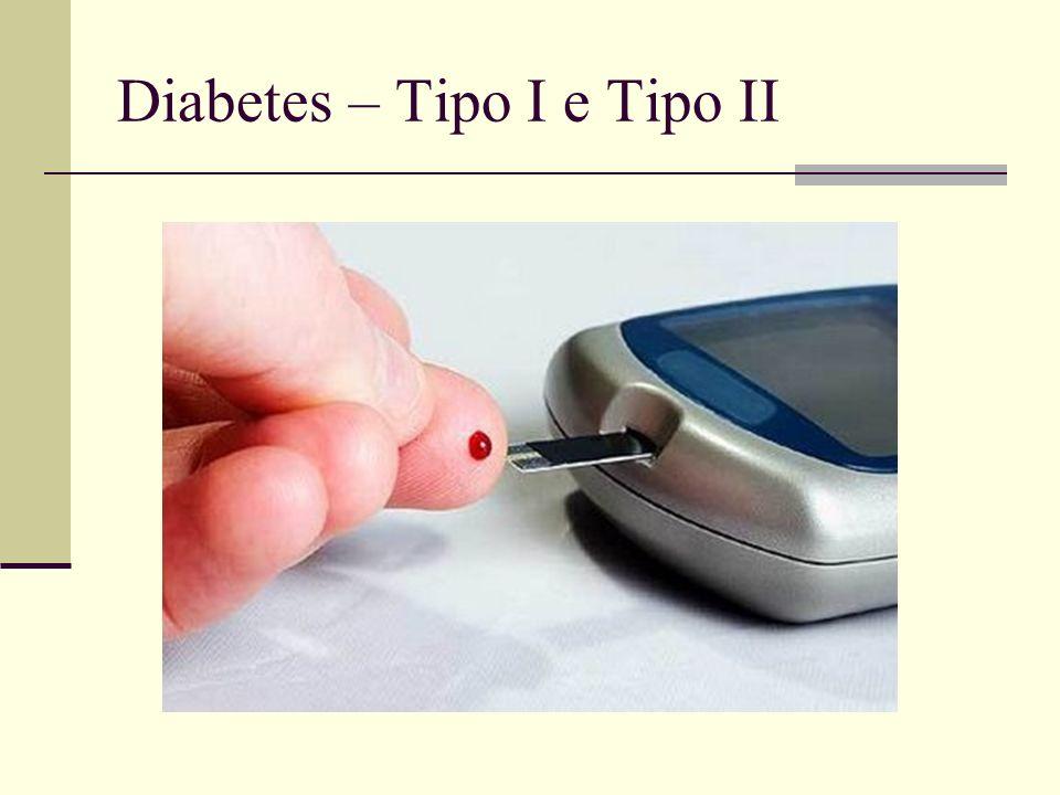 Diabetes – Tipo I e Tipo II