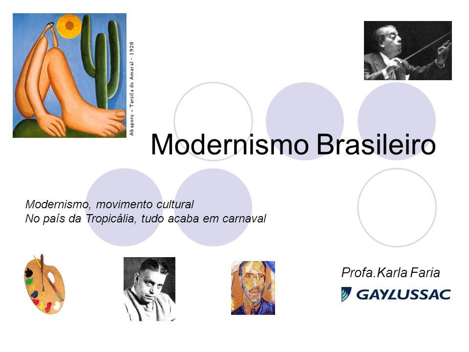 Modernismo Brasileiro