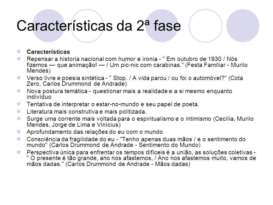 Características da 2ª fase