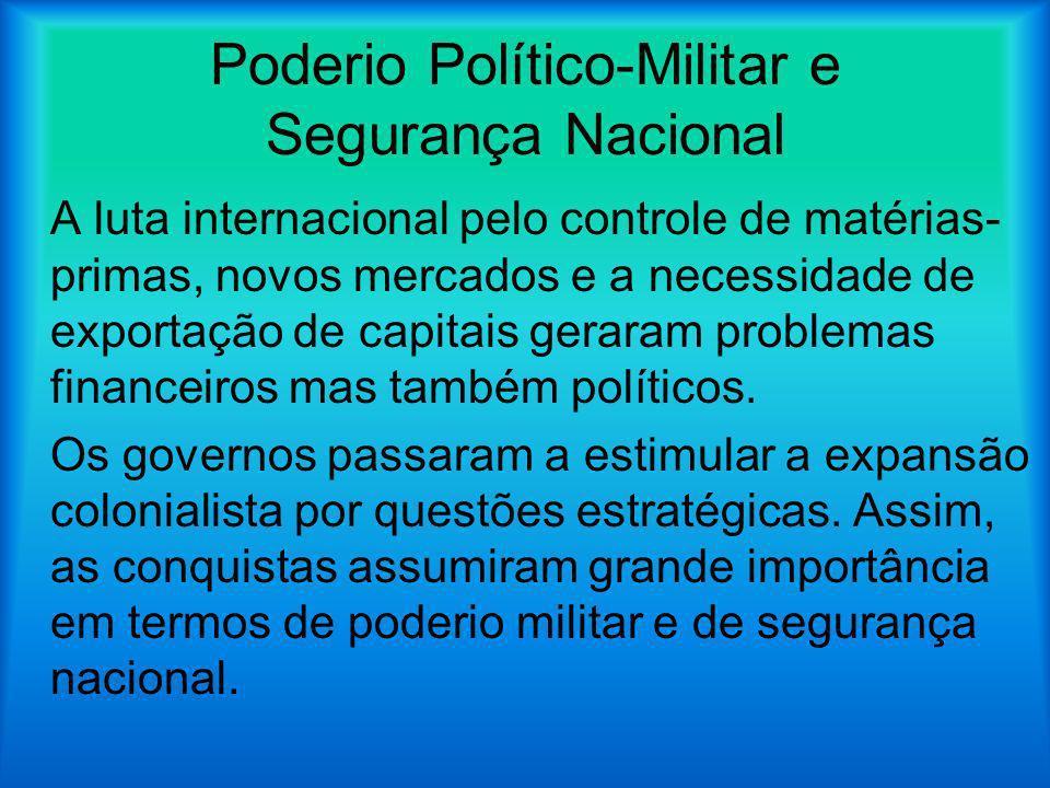 Poderio Político-Militar e Segurança Nacional