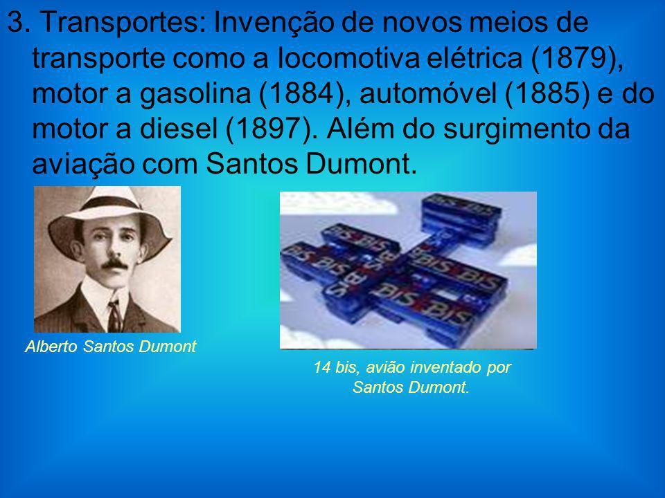 14 bis, avião inventado por Santos Dumont.