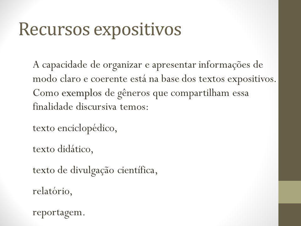 Recursos expositivos