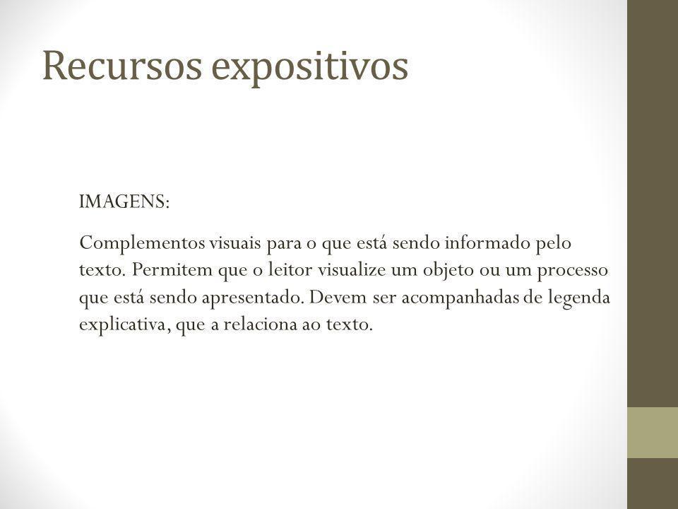 Recursos expositivos IMAGENS: