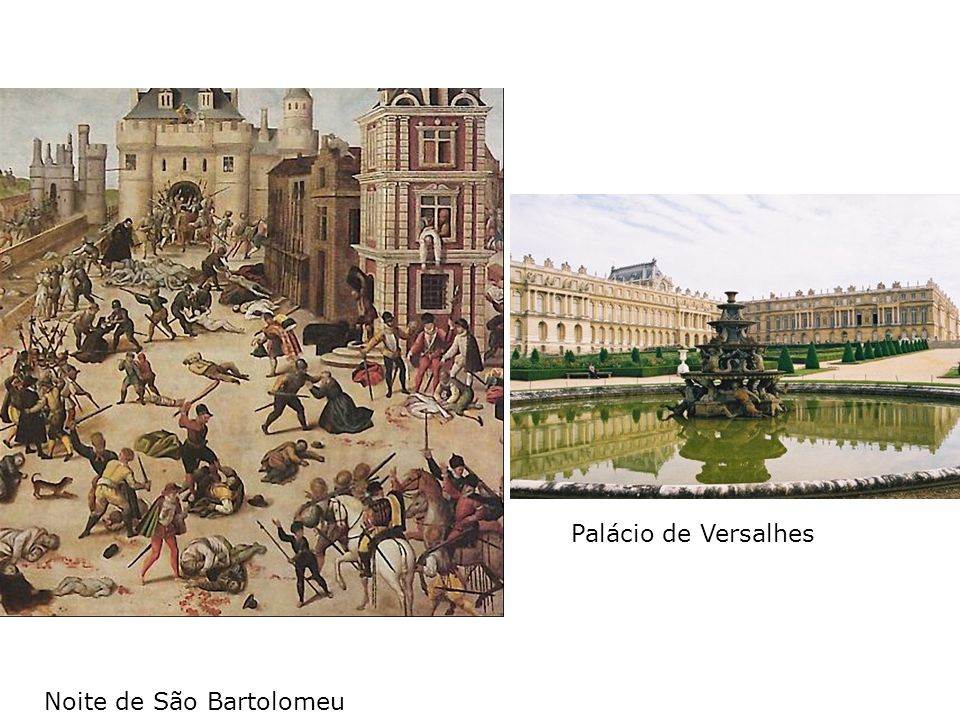 Palácio de Versalhes Noite de São Bartolomeu