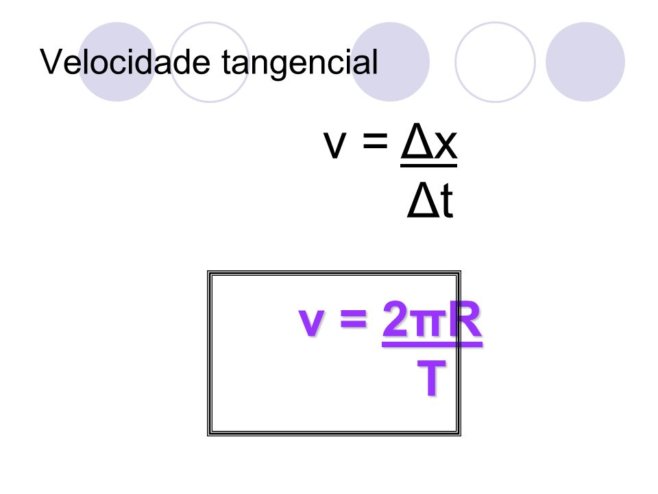 Velocidade tangencial