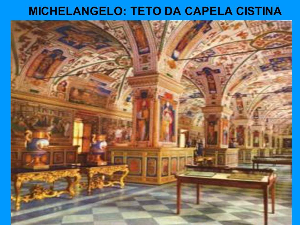 MICHELANGELO: TETO DA CAPELA CISTINA