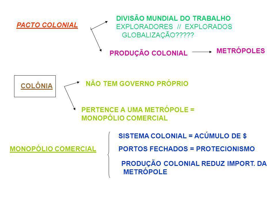 DIVISÃO MUNDIAL DO TRABALHO
