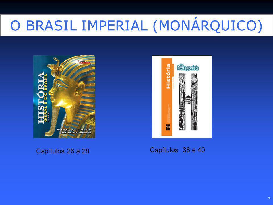 O BRASIL IMPERIAL (MONÁRQUICO)