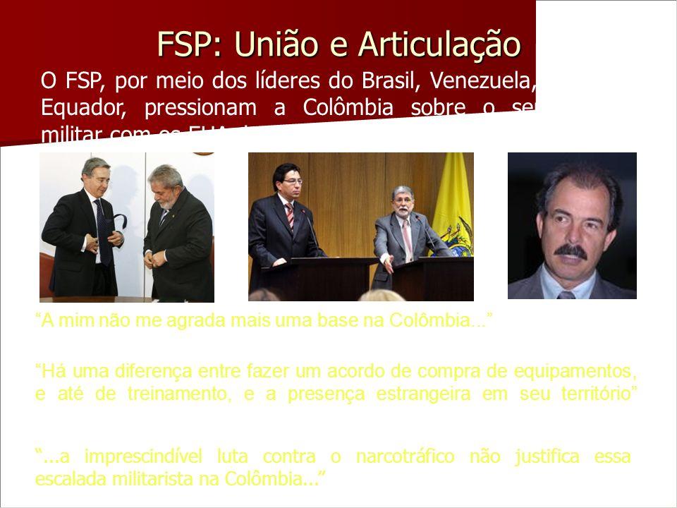FSP: União e Articulação