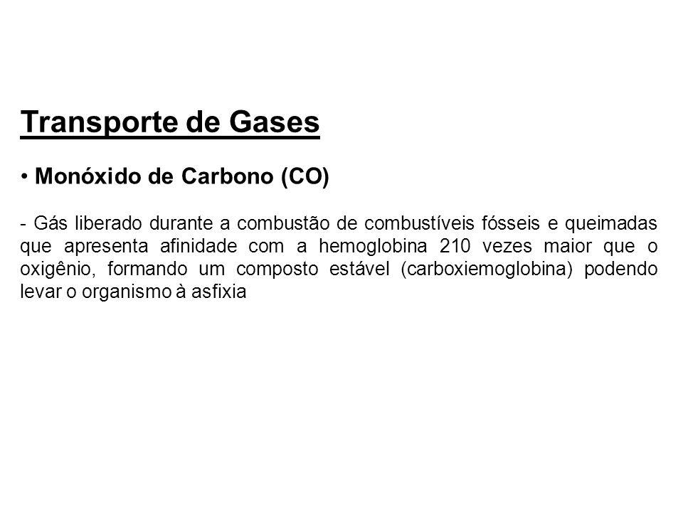 Transporte de Gases Monóxido de Carbono (CO)