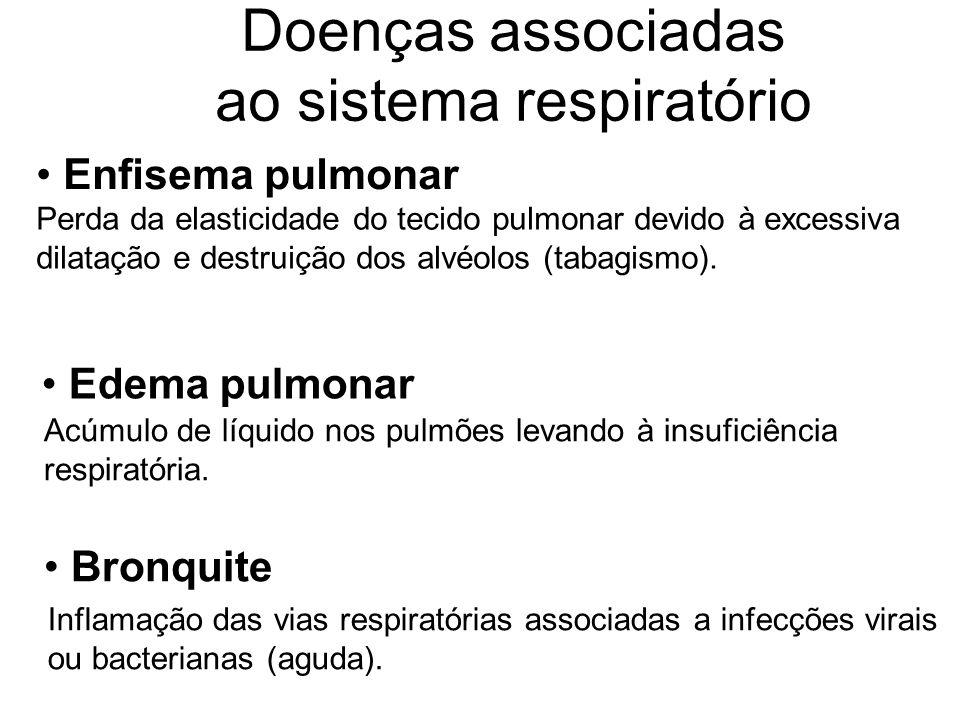 Doenças associadas ao sistema respiratório