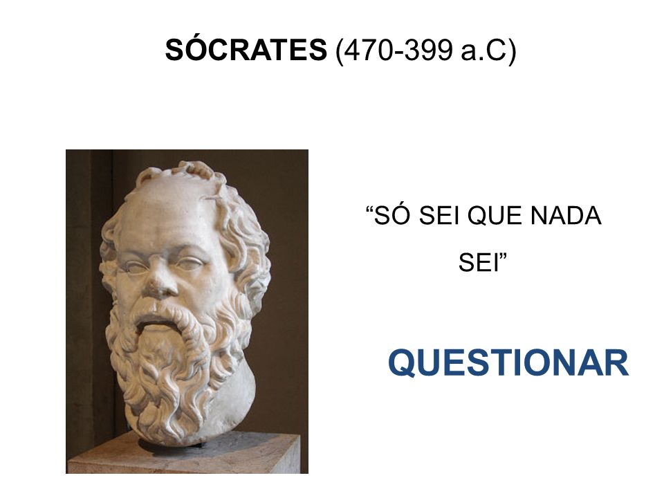 So Sei Que Nada Sei Frase De Socrates: Revisão De Filosofia Profº Leandro Crestani