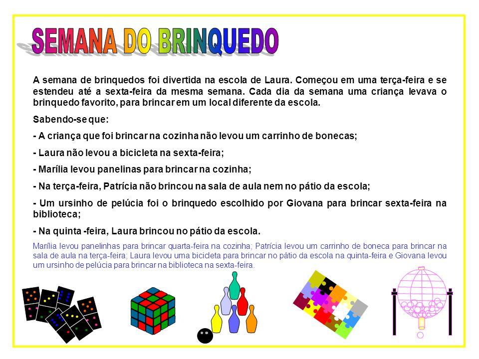 SEMANA DO BRINQUEDO