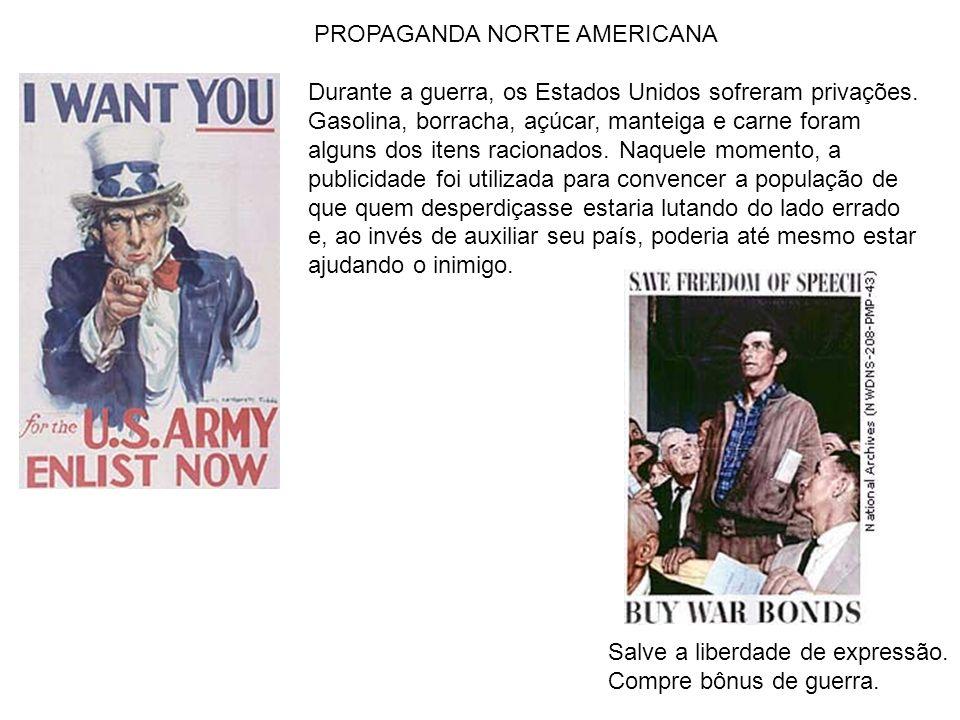 PROPAGANDA NORTE AMERICANA