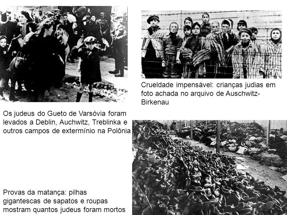 Crueldade impensável: crianças judias em foto achada no arquivo de Auschwitz-Birkenau