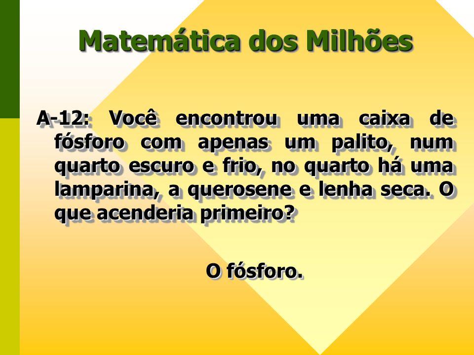 Matemática dos Milhões