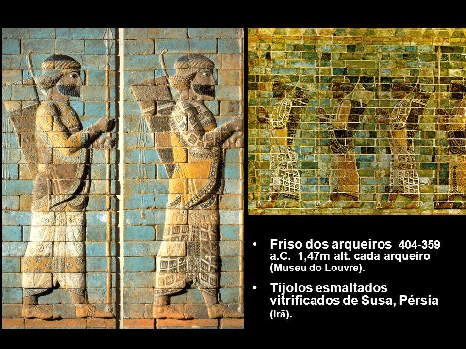 Friso dos arqueiros 404-359 a. C. 1,47m alt
