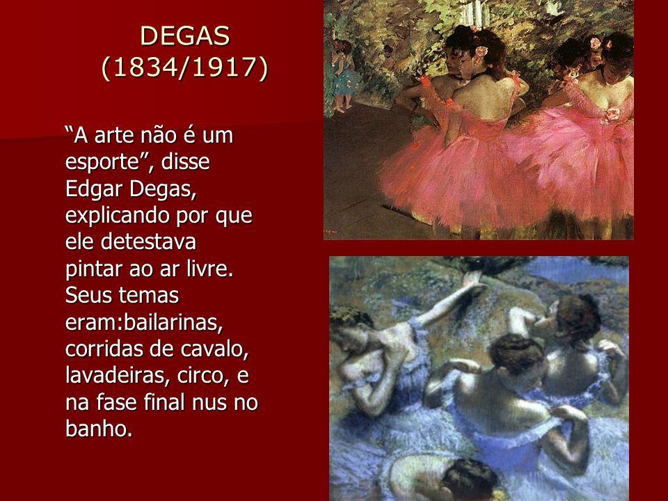 DEGAS (1834/1917)