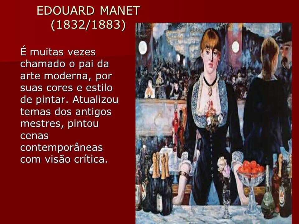 EDOUARD MANET (1832/1883)