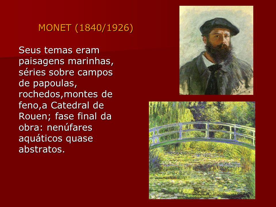 MONET (1840/1926)