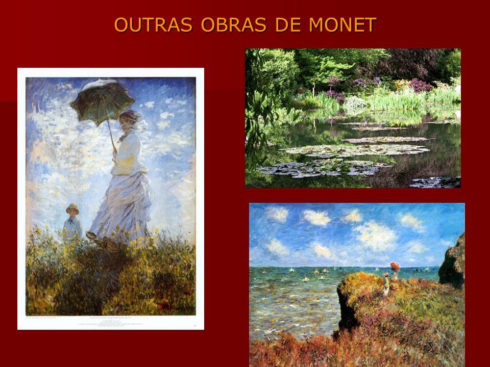OUTRAS OBRAS DE MONET