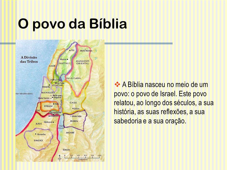 O povo da Bíblia