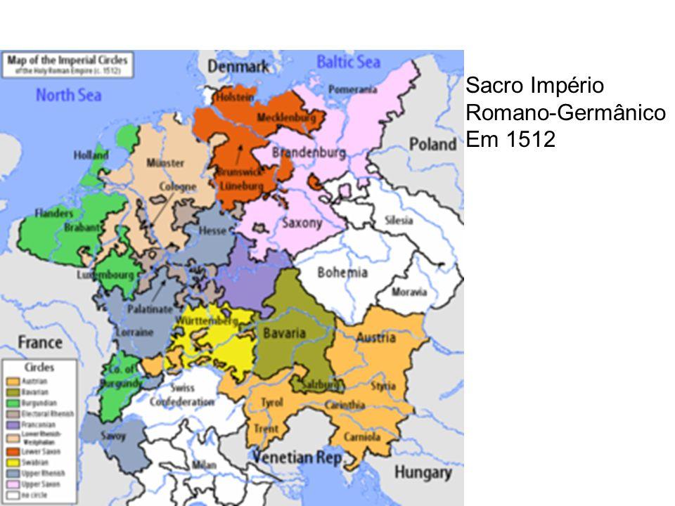 Sacro Império Romano-Germânico Em 1512