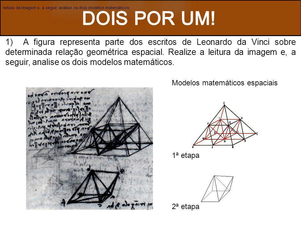 leitura da imagem e, a seguir, analise os dois modelos matemáticos.