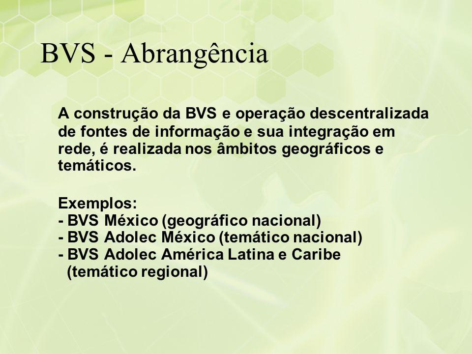 BVS - Abrangência